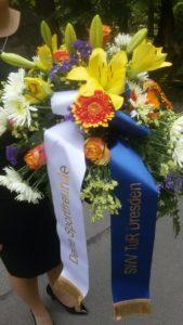 Trauerfeier für das Ehrenmitglied Klaus Erdmann