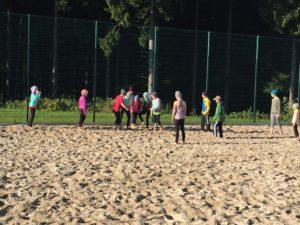 Die Leistungsgruppe zum Trainingslager auf dem Rabenberg 2017